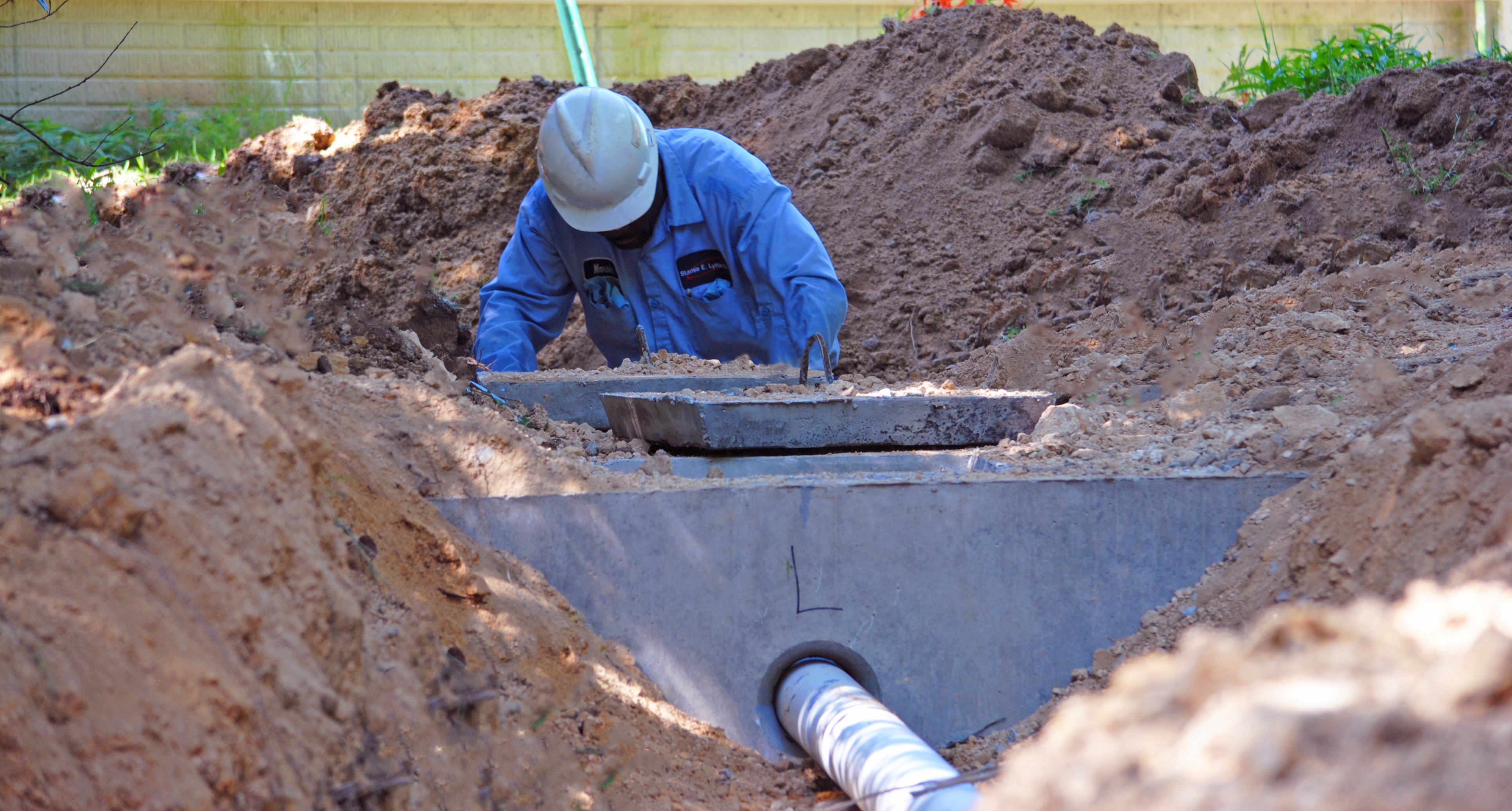 Sewer Install